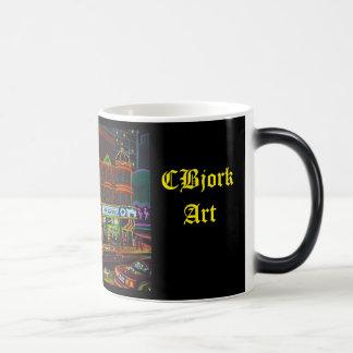 CBjork Osheas Las Vegas Artwork Magic Mug