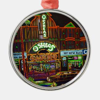 CBjork Osheas Las Vegas Artwork Metal Ornament