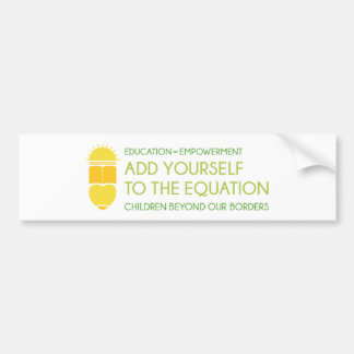 CBOB Motto Bumper Sticker