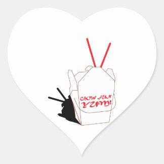 Cbow Fan Yum! Heart Stickers