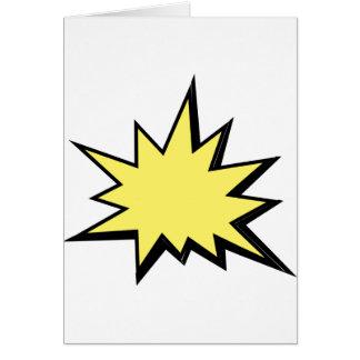 CBPG COMICBOOK POW BANG ACTION GRAPHIC SHARP OUTBU CARD