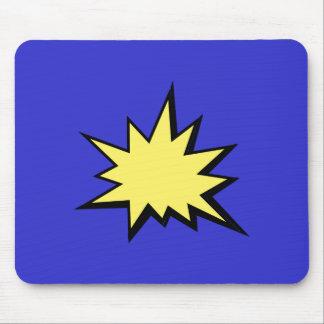 CBPG COMICBOOK POW BANG ACTION GRAPHIC SHARP OUTBU MOUSE PAD