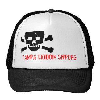CC0029, TAMPA LIQUOR SIPPERS TRUCKER HAT
