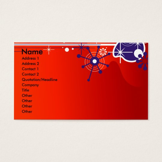 CC-045.ai, Name, Address 1, Address 2, Contact ... Business Card