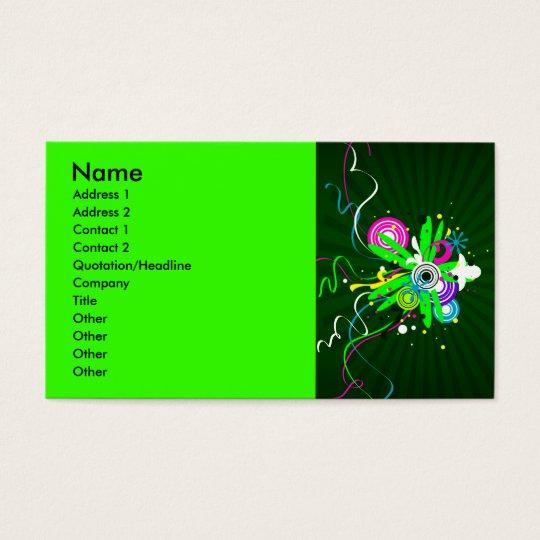 CC-075.ai, Name, Address 1, Address 2, Contact ... Business Card