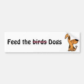 CC alimentación los pájaros, significo a la pegati Pegatina Para Auto