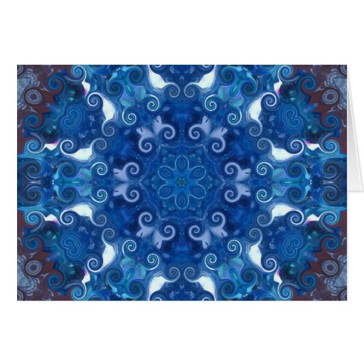CC Blue Magic Card