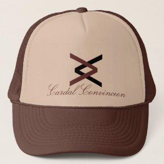 CC Brown and Black Hat