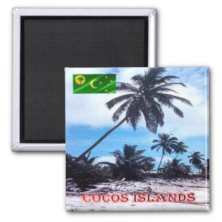 CC - Cocos Islands and Keeling - Keeling Palms Magnet