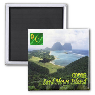 CC - Cocos Islands and Keeling - Lord Howe Island Magnet