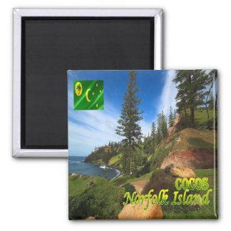 CC - Cocos Islands and Keeling - Norfolk Island Magnet