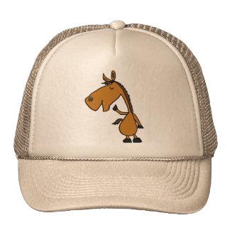 CC- Cool Horse Cartoon Hat