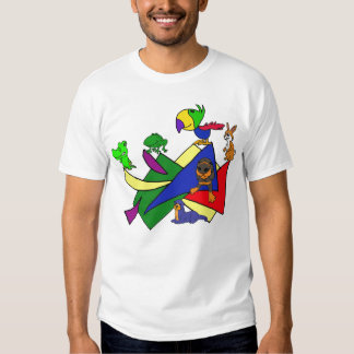 CC- Critters Abstract shirt