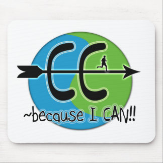CC Cross Country - Because I CAN!! Mouse Pad