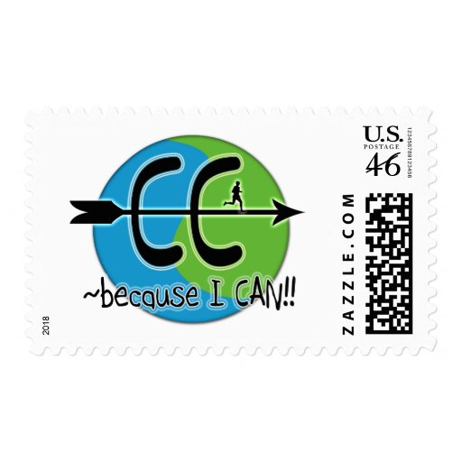 CC Cross Country - Because I CAN!! Postage