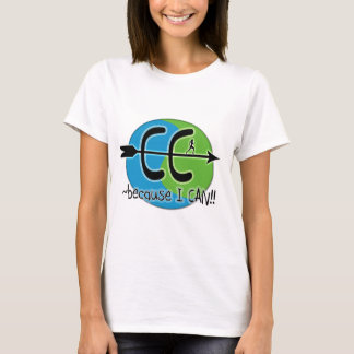 CC Cross Country - Because I CAN!! T-Shirt