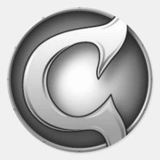 CC Logo Sticker