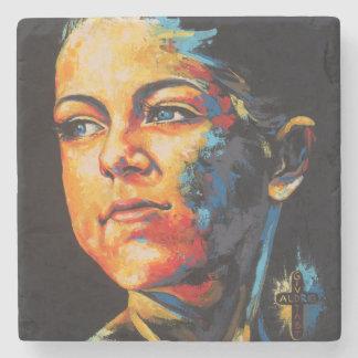 CC portrait Stone Coaster
