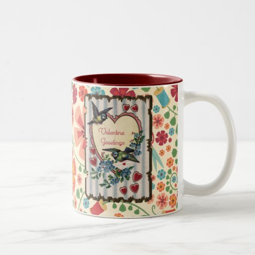 CC_pp_mat_girl_inspiration_flower Two-Tone Coffee Mug