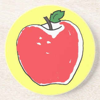 CC- Red Apple Coasters