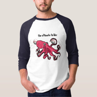 CC- Ultimate Fielder Octopus Baseball Shirt