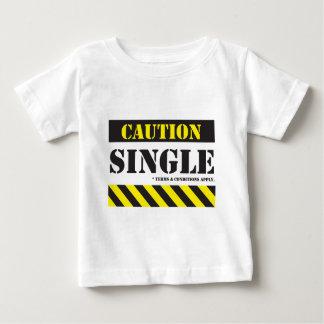 CCAU004S4 - caution single with tc.pdf Baby T-Shirt