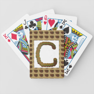 ccc ALPHA Alphabet design Identity ID Mark Poker Deck