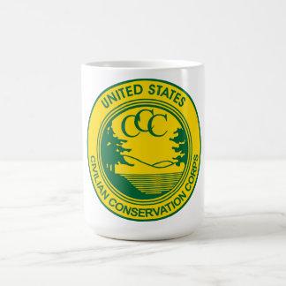 CCC Civilian Conservation Corps Commemorative Coffee Mug