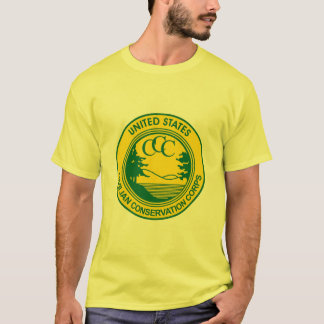 CCC Civilian Conservation Corps Commemorative T-Shirt