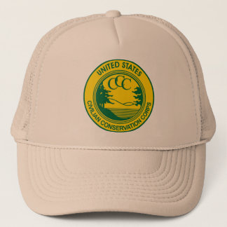 CCC Civilian Conservation Corps Commemorative Trucker Hat