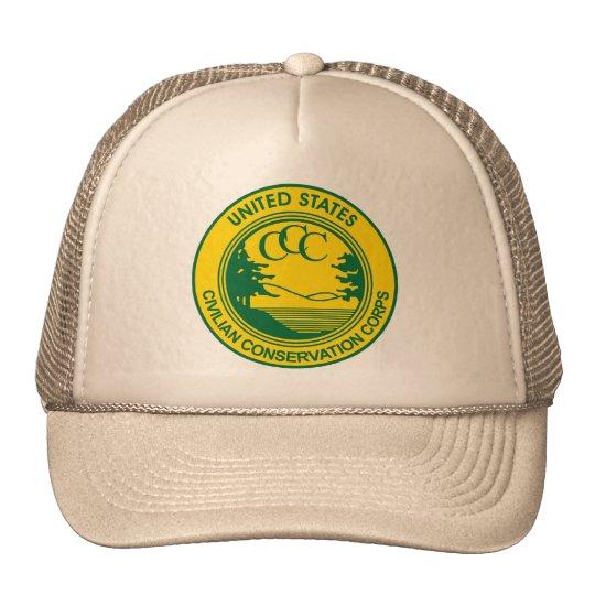 CCC Civilian Conservation Corps Commemorative Trucker Hat