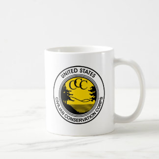 CCC Civilian Conservation Corps Tribute Coffee Mug