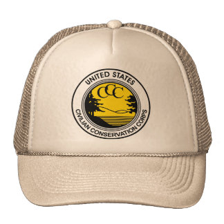 CCC Civilian Conservation Corps Tribute Trucker Hat