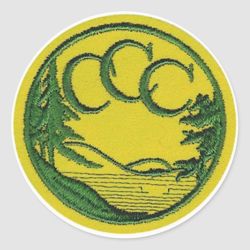 CCC Patch Round Stickers