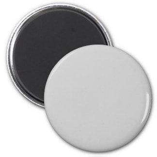 CCCCCC Grey Fridge Magnet