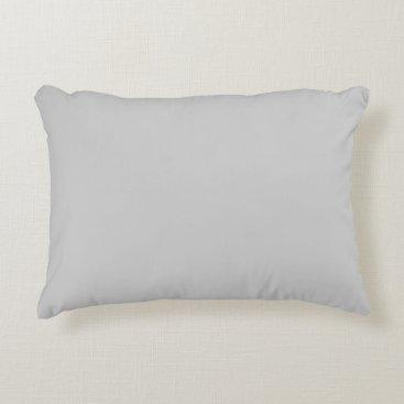 Professional Business #CCCCCC Hex Code Web Color Gray Grey Decorative Pillow