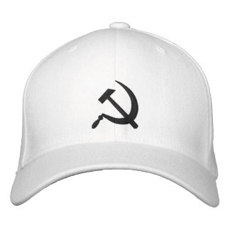 CCCP Серп и Молот Sickle & Hammer ロシア Embroidered Embroidered Hats