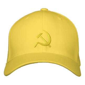 CCCP Серп и Молот Sickle & Hammer ... - Customized Embroidered Hat