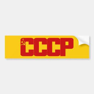 CCCP Bumpersticker Bumper Sticker