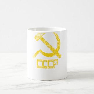CCCP Hammer and Sickle Vintage Coffee Mug