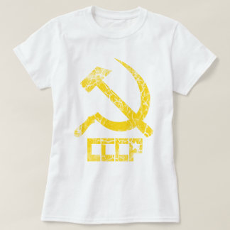 CCCP Hammer and Sickle Vintage Shirt