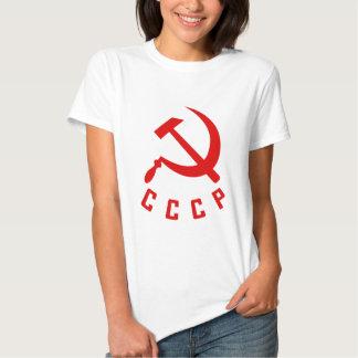 CCCP (la camisa de las mujeres del estilo N)