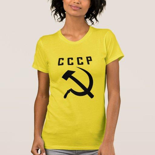 CCCP (la camiseta de las mujeres del estilo E)