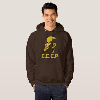CCCP Lenin Portrait Men's Basic Hooded Sweatshirt