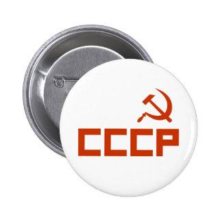 CCCP PINBACK BUTTON