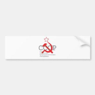 CCCP_red Pegatina Para Auto