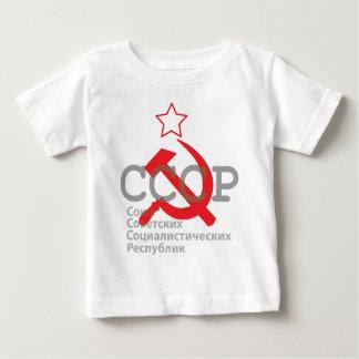 CCCP_red Playera Para Bebé