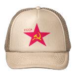 CCCP Red Star Hammer & Sickle Cap Trucker Hat