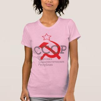 CCCP_red T-shirt