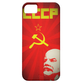 cccp soviet union communist red lenin russia propa iPhone SE/5/5s case